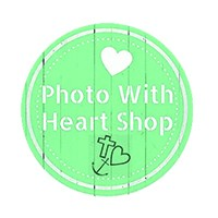 Photo with heart Shop